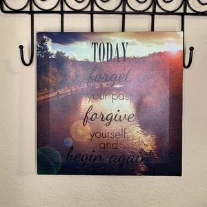 8x8 inspirational wall decor